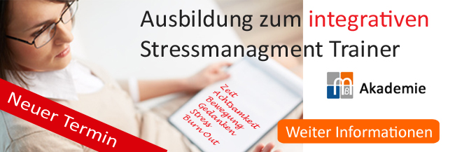 Stress Management Trainer neuer Termin